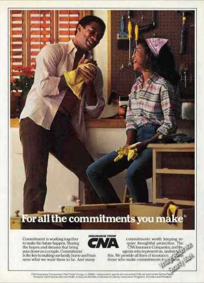 Cna Insurance for All the Commitments You Make (1984)