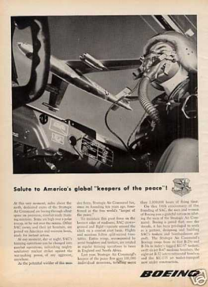 Boeing Ad Sac Strategic Air Command (1956)
