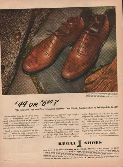 Regal Mens Dress Shoes (1944)