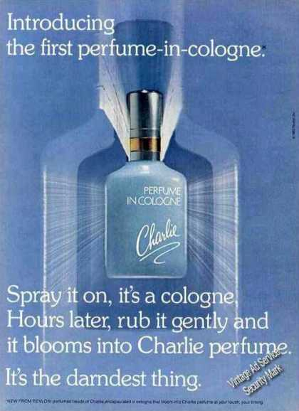 "Introducing Charlie ""First Perfume In Cologne"" (1982)"