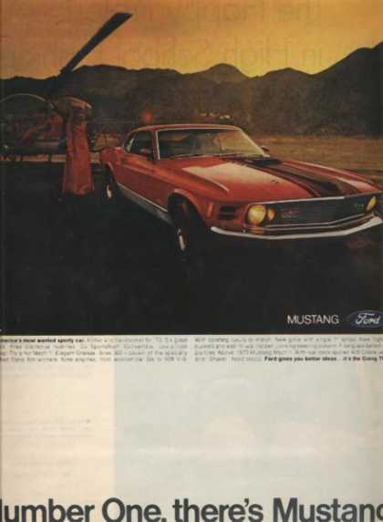 Ford's Mustang/ Cobra (1969)