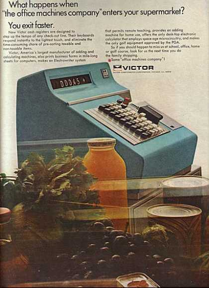 Victor (Cash Registers) (1966)
