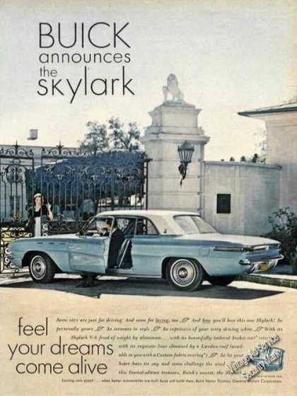 Buick Announces the Skylark Photo (1961)