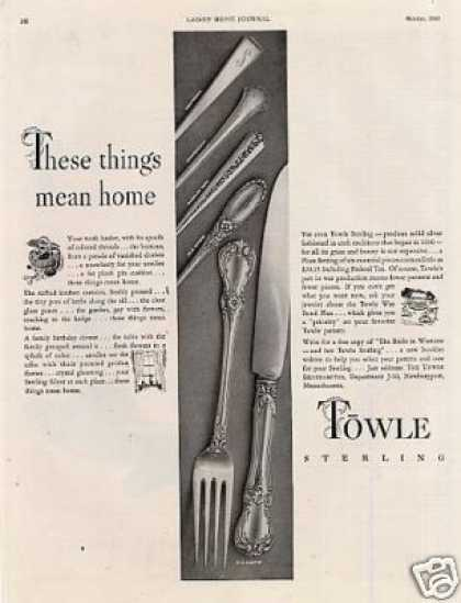 Towle Sterling (1943)