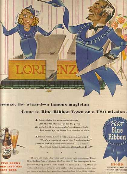 Blue Ribbon Beer (1944)
