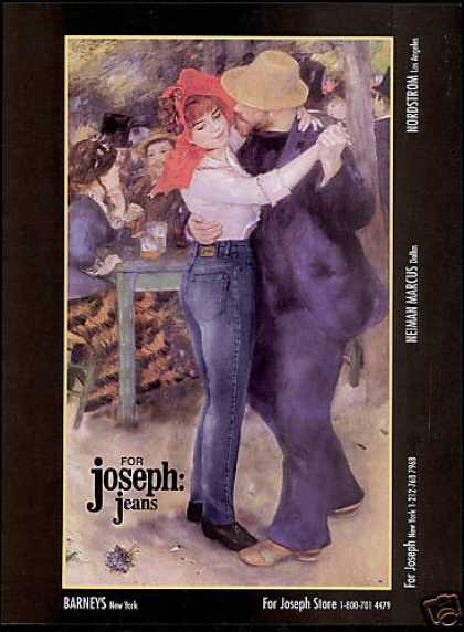 Joseph Jeans Fashion Red Bonnet Dance Art (1995)