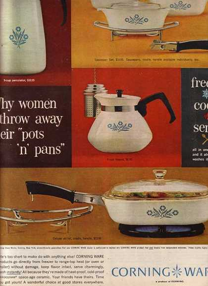 Corning Ware's Cookware (1962)