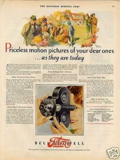 Bell & Howell Filmo Movie Camera Color (1927)