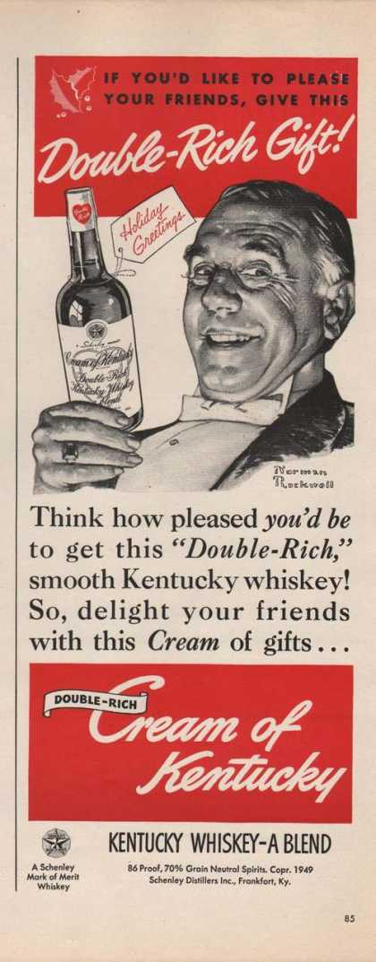 Double Rich Cream of Kentucky Whiskey (1949)
