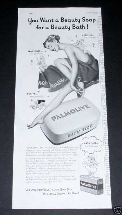 Palmolive Beauty Soap, Pin-up (1951)