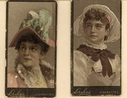 W. Duke Sons & Co.'s Duke's Cigarettes – Actresses – Image 13