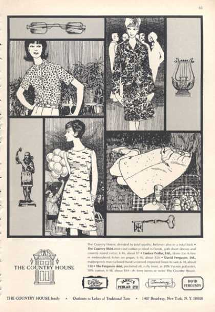 The Country House Shirt Dress Skirt Fashion (1966)