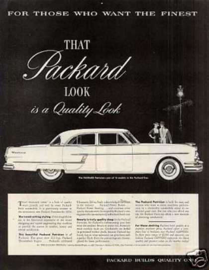 Packard Patrician Car (1954)