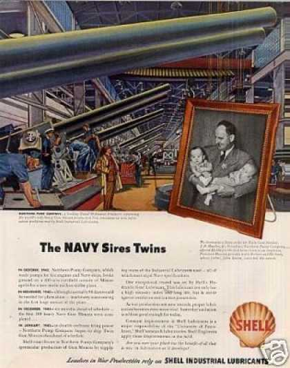 Shell Ad Northern Pump Company (1943)