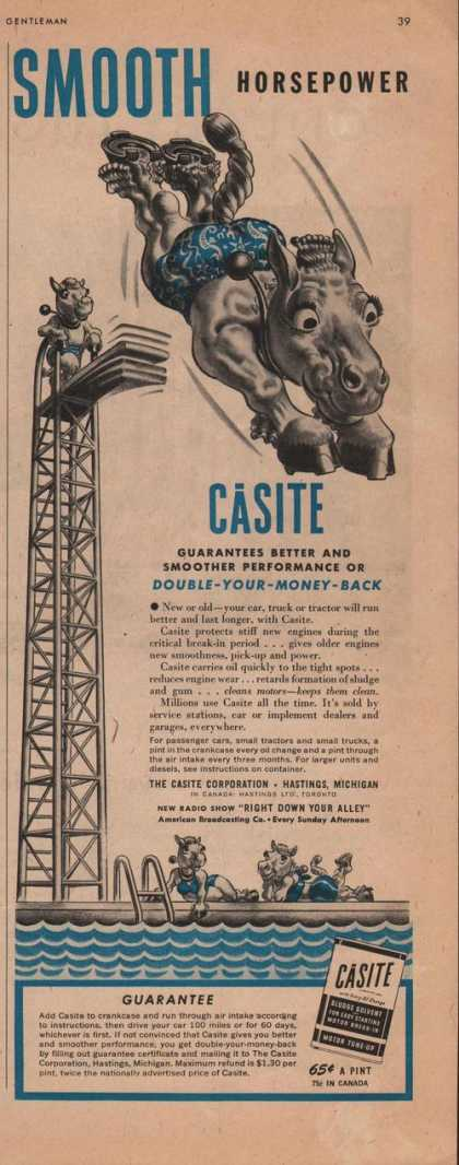 Smooth Horsepower Casite Sludge (1942)