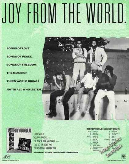 Third World Group Photo Album Promo (1987)