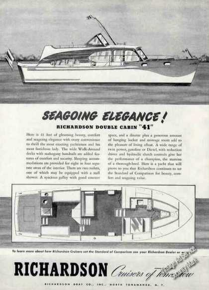 "Richardson Double Cabin ""41"" Seagoing Elegance (1956)"