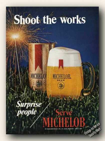 Surprise People/serve Michelob Nice Color Promo (1971)