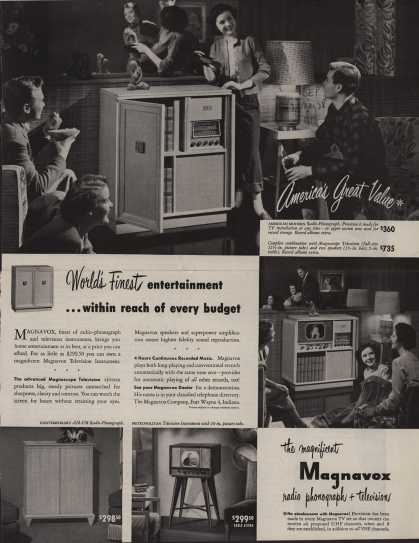 Magnavox Company's Various – World's Finest entertainment (1949)