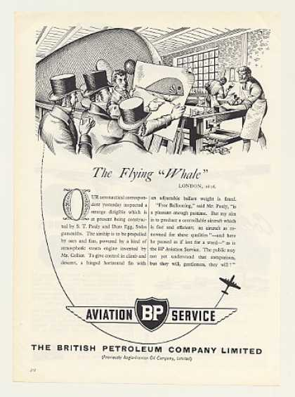 BP British Petroleum Aviation 1816 Flying Whale (1955)