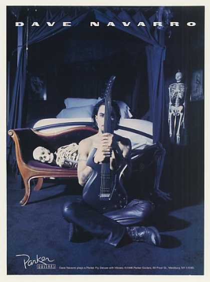 Dave Navarro Parker Fly Deluxe Guitar Photo (1996)