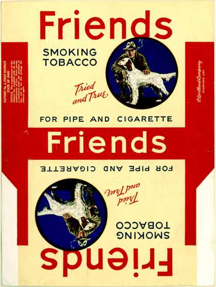 Lorillard's Tobacco for Pipe and Cigarettes – Friends Smoking Tobacco
