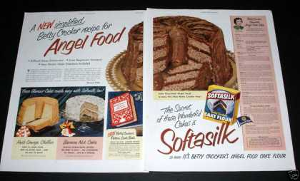 Betty Crocker Softasilk Cakes (1950)