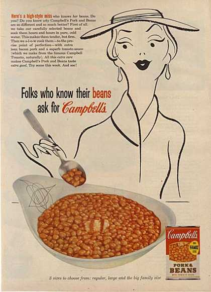 Campbell's Pork and Beans (1956)