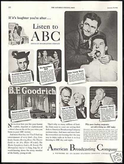 ABC Radio Tom Breneman Don McNeill Alan Young (1946)
