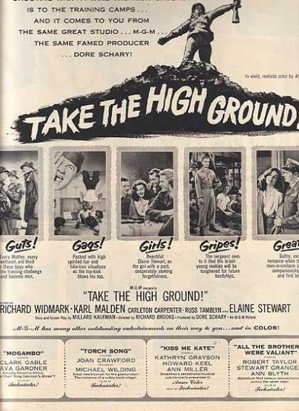 Take The High Ground (M-G-M) (1953)