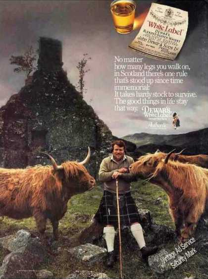 Dewar's White Label Impressive Scotland (1987)