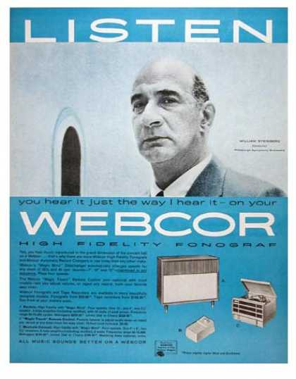 Webcor Phonograph #1 (1957)