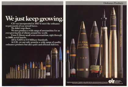 CIS Ordnance Products Ammo Bombs (1986)