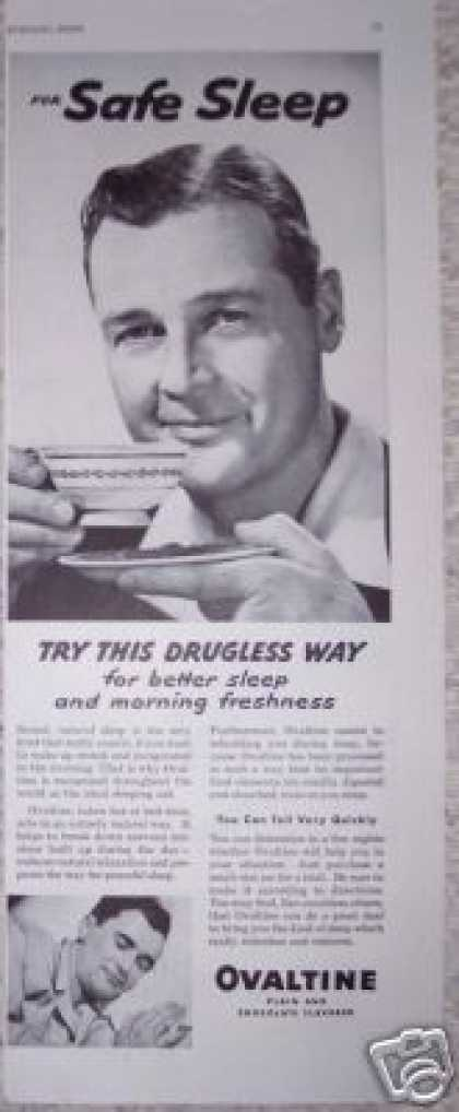 Ovaltine Safe Sleep the Drugless Way (1950)