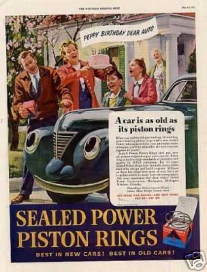 Sealed Power Piston Rings (1945)