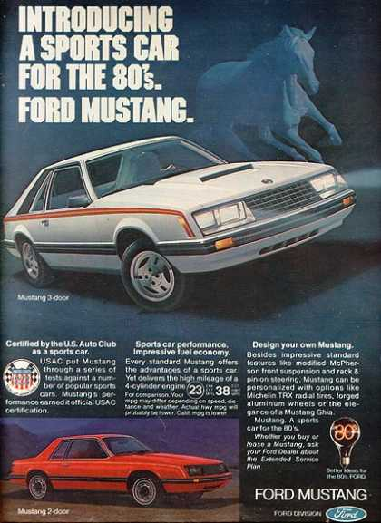Ford's Mustang/ Cobra (1979)