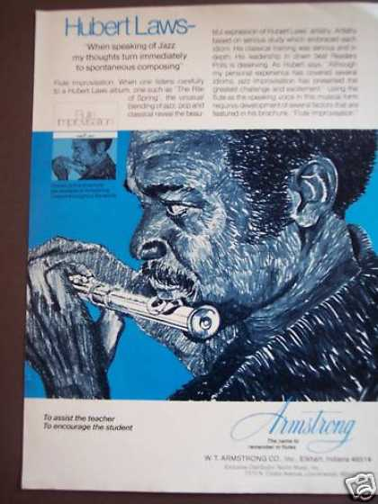 Hubert Laws Armstrong Flutes Music (1975)