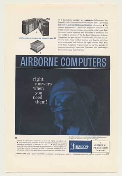 Librascope Military Airborne Digital Computers (1959)
