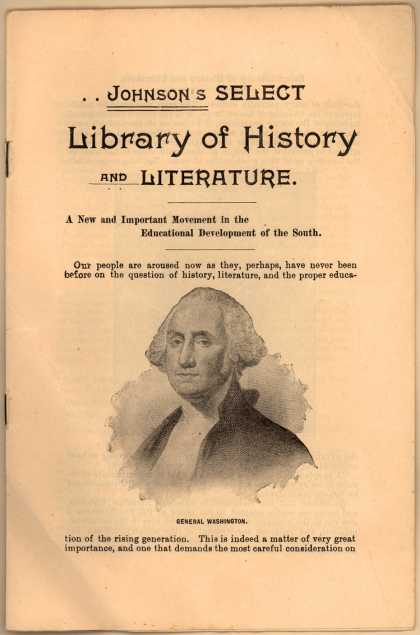 B. F. Johnson & Co.'s History and Literature Books – Johnson's Select Library of History and Literature