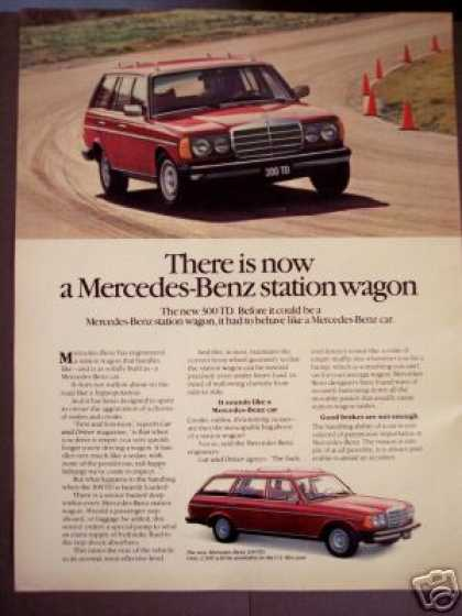 Mercedes Benz 300 Td Station Wagon Photo (1979)