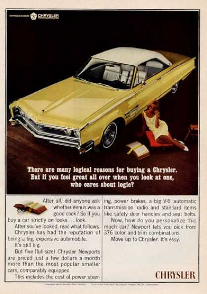 Chrysler Newport – Who Cares About Logic? (1965)