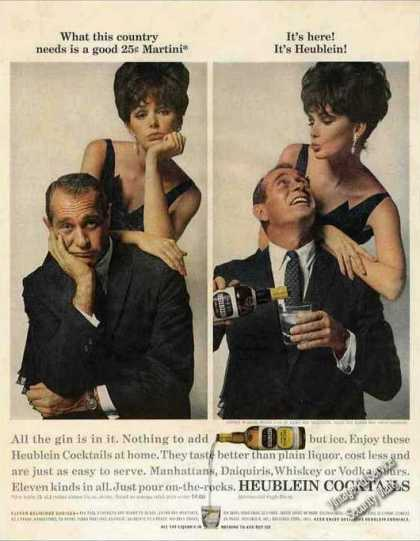 Darren Mcgavin Photos Heublein Cocktails (1963)