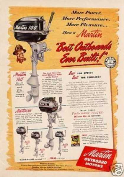 Martin Outboard Motors (1950)
