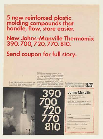 Johns-Manville Thermomix Asbestos Mold Compound (1967)