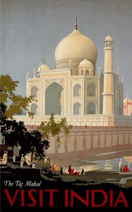 Visit India, the Taj Mahal (1930)