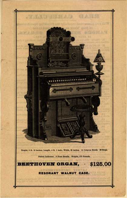 Daniel F. Beatty's Beethoven Organs – Read Carefully