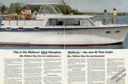Hatteras 41' Twin Cabin Photo Walter Wallace (1967)