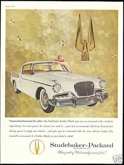 Studebaker Golden Hawk Photo Vintage Car (1957)