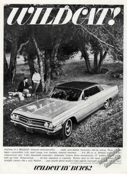 Buick Wildcat In Woods Photo Car (1963)