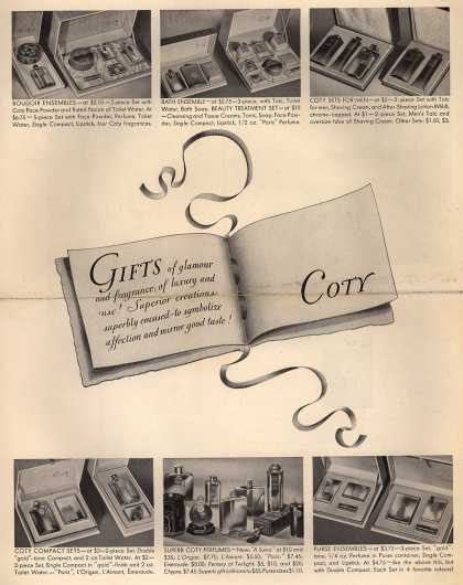 Coty's Various – Gifts (1934)